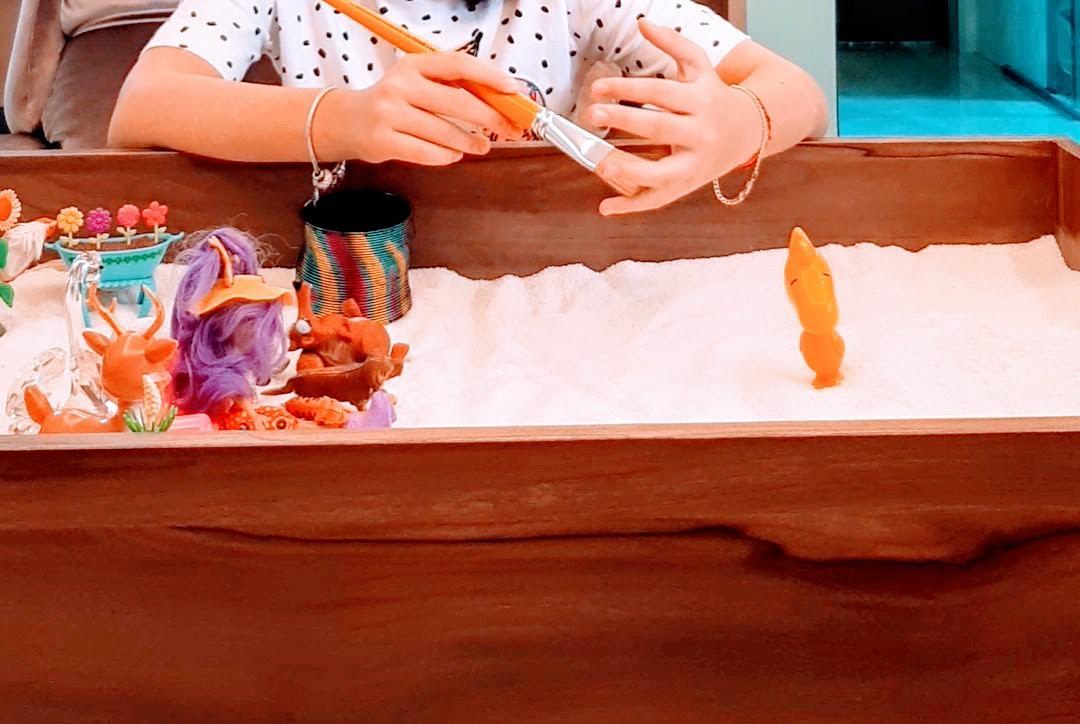 Caixa de Areia com Crianças e Terapia EMDR